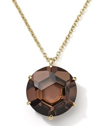 Ippolita Gemma 18K Smoky Quartz Pendant Necklace Women's
