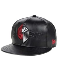 New Era Portland Trail Blazers Stamp 9Fifty Snapback Cap Black