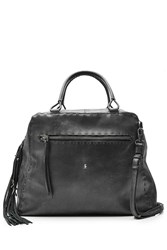 Henry Beguelin Leather Tote With Tassel Gr. One Size