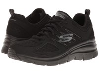 Skechers Fashion Fit Not Afraid Black Women's Shoes
