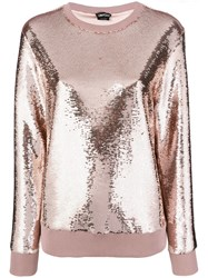Tom Ford Sequinned Sweater Nude And Neutrals