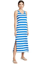 Petit Bateau Bretella Dress Blue White