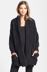 Women's Barefoot Dreams Cozychic Travel Shawl Black Online Only Midnight Black