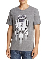 Junk Food R2 D2 Crewneck Short Sleeve Tee Gray