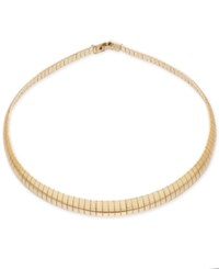 Thalia Sodi Gold Tone Herringbone Collar Necklace Only At Macy's