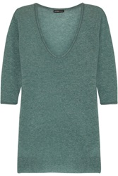 James Perse Cashmere Sweater Green