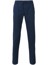 Dondup Tapered Trousers Blue