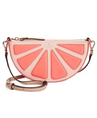Kate Spade New York Grapefruit Slice Crossbody Coral Sunset Multi