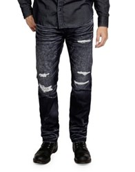 Cult Of Individuality Mccoy Distress Loose Fit Jeans Abyss