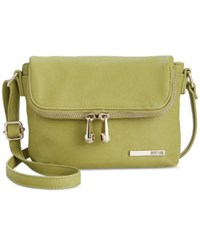 Kenneth Cole Reaction Handbag Wooster Street Foldover Flap Mini Bag Moss