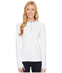 Columbia Solar Ridge Hoodie White Oxygen Women's Sweatshirt