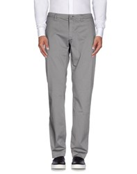 Siviglia White Trousers Casual Trousers Men