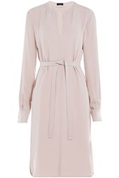 Joseph Asymmetric Silk Dress Rose