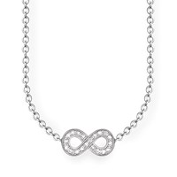 Thomas Sabo Glam And Soul Infinity Diamond Necklace N A N A