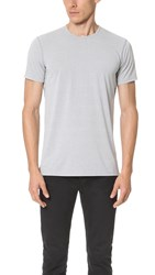 Reigning Champ Powerdry Jersey Tee Marled Grey