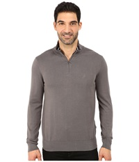 Nautica 1 4 Zip Sweater Castlerock Men's Sweater Gray