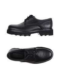 Emporio Armani Lace Up Shoes Black