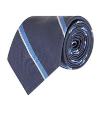 Polo Ralph Lauren Silk Stripe Tie Navy