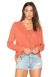 Heartloom Mcguire Top Orange