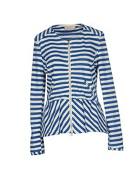 Kaos Jeans Coats And Jackets Jackets Women Blue