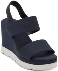 0dfd1af2acf Dkny Cati Slingback Wedge Sandals Created For Macy s Indigo