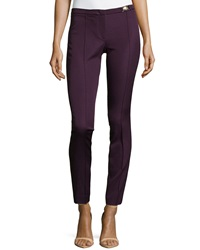 Versace Skinny Ankle Trousers Pink Purple