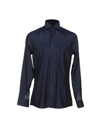 Carlo Pignatelli Shirts Shirts Men Slate Blue