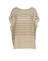 Rosso35 Blouses Beige