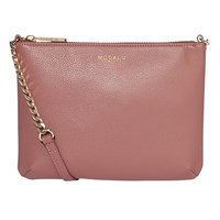 Modalu Twiggy Leather Across Body Bag Mauve