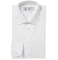 Turnbull And Asser White Cotton Shirt