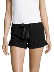 Juicy Couture Textured Sleep Shorts Pink