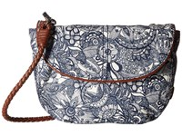 Sakroots Artist Circle Festi Belt Bag Navy Spirit Desert Handbags Gray