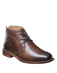 Florsheim Doon Leather Chukka Boots Brown