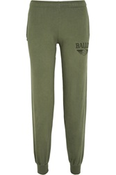 Brian Lichtenberg Basketballin Cotton Jersey Track Pants Green