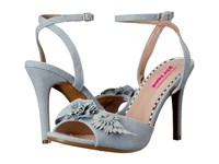 Blue By Betsey Johnson Jaime Denim Multi High Heels Blue