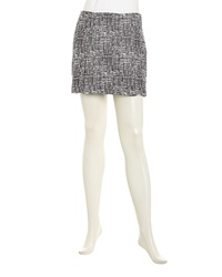 Joie Tabby High Waist Mini Skirt Caviar