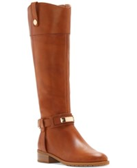 Inc International Concepts Women's Fabbaa Tall Wide Calf Boots Only At Macy's Women's Shoes Wheat