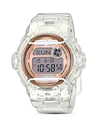 G Shock Baby Digital Jelly Watch 45.9Mm Pink
