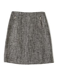 Precis Petite Jeff Banks Tweed Skirt Multi Coloured Multi Coloured