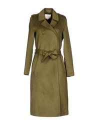 Selected Femme Coats Military Green
