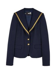 Love Moschino Sailor Jacket Navy