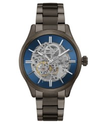 Kenneth Cole New York Men's Automatic Two Tone Stainless Steel Bracelet Watch 44Mm Two Tone