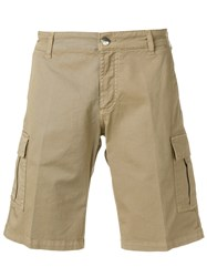 Entre Amis Cargo Shorts Nude And Neutrals