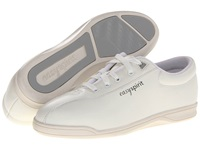 Easy Spirit Ap1 White Leather Women's Lace Up Casual Shoes