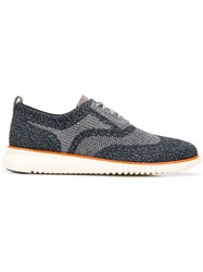 Cole Haan Patterned Low Top Sneakers Blue