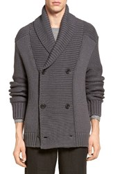 Vince Men's Double Breasted Cardigan