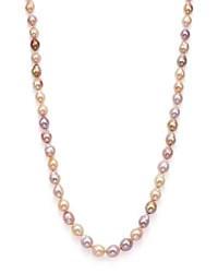 Bloomingdale's Cultured Freshwater Natural Multi Color Ming Pearl Necklace 34