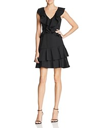 Lucy Paris Sasha Ruffled Fit And Flare Dress 100 Exclusive Black
