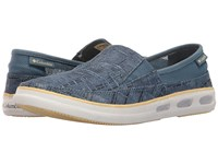 Columbia Vulc N Vent Slip Outdoor Steel Cornstalk Women's Shoes Blue