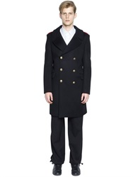 Ports 1961 Melton Wool Blend Military Coat